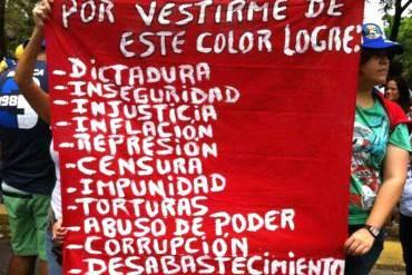 ¿Chavistas arrepentidos? Nunca es tarde para rectificar y aquí la prueba + (Foto)