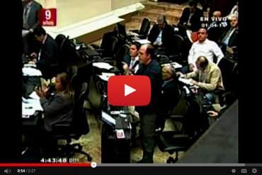 ¿DIÁLOGO? Asamblea Nacional rechazó discutir caso de Machado este martes  + Video
