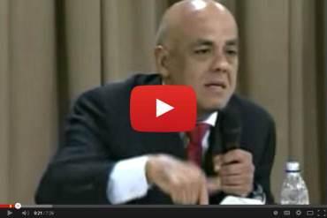¡FUERA E' POTE! En video: Jorge Rodríguez a Andrés Velásquez: 'Me caes muy mal, me caes malísimo'