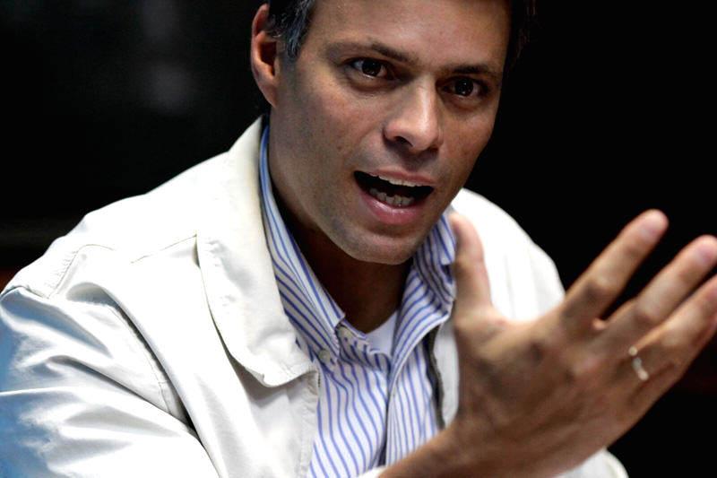 Leopoldo Lopez habla en una carta