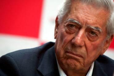 """Vargas Llosa: Venezuela es un ejemplo """"patético de los fracasos económicos y sociales"""""""
