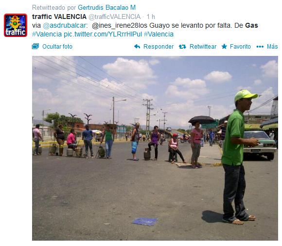 No hay GAS en Venezuela (1)