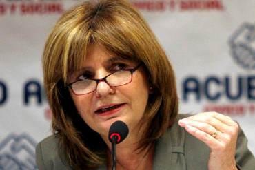 """Patricia Bullrich: """"El régimen de Nicolás Maduro está absolutamente putrefacto"""""""