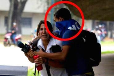 ¡IMPACTANTE! Paramilitares del régimen atacaron y robaron a periodista mexicana + Fotos
