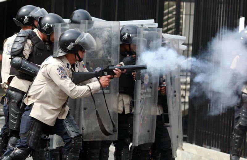 Represion Protestas en Venezuela GNB (3)