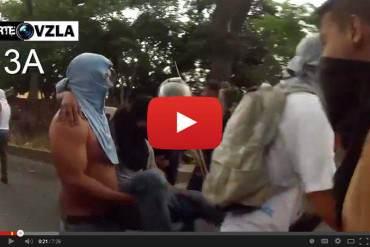 ¡EN RESUMEN! Así fueron los brutales ataques contra los estudiantes de la UCV el 02 y 03 de abril (Video)