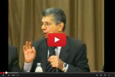 """¡CONTUNDENTE! Henry Ramos Allup """"esta constitución no habla de socialismo"""" (+Video)"""