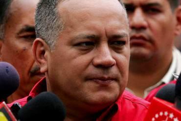 """¡VAN POR MÁS! Diosdado Cabello: """"La desjuramentación de los de Amazonas no es suficiente"""""""