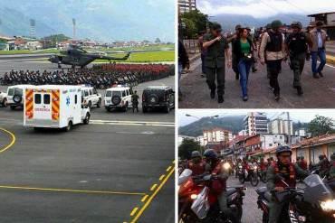 ¡LE TEMEN A LOS GOCHOS! Gobierno implanta fuerte represión militar en Mérida (+ Fotos)
