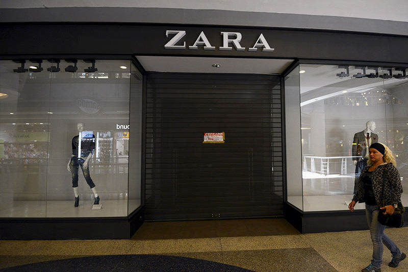 ¡SIGUE LA DEBACLE! Tiendas Zara, Bershka y Pull and Bear cierran definitivo sus operaciones