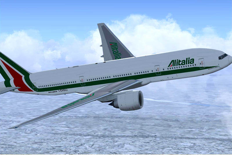 Alitalia-avion-aerolinea