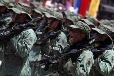 ¡NO HAY PERDÓN! Detienen a 10 militares del 4-F por protestar frente a Miraflores