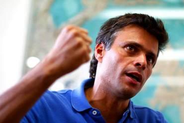 ¡ESTÁ CLARO! Leopoldo López reitera: Diálogo no es posible tras suspender el revocatorio