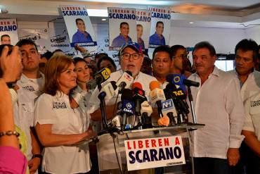 ¡UNIDAD! Aveledo: «Más unidos que nunca para respaldar a Rosa de Scarano y Patricia de Ceballos»