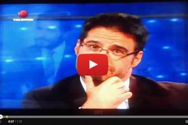 ¡BUENÍSIMA PARODIA! Por esta razón se picó Roque Valero con Luis Chataing (Video)