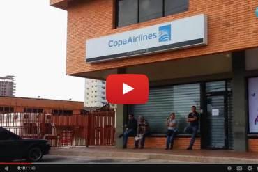 ¡MISIÓN IMPOSIBLE! Zulianos madrugan para intentar conseguir boletos aéreos (+Video)