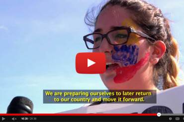 ¡VENEZUELA LUCHA! El documental de una estudiante en Miami que causó revuelo (+Video)