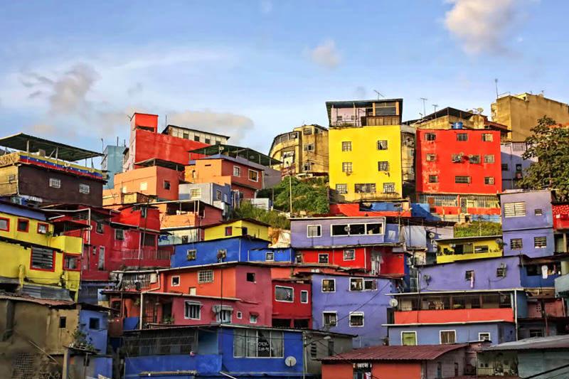 Barrios de Caracas Miseria en Venezuela Pobreza