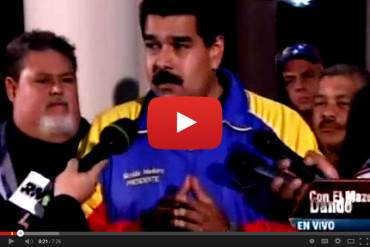 """¿EL JUEZ? Maduro a oposición: """"Asesinos les dije, asesinos se quedaron"""" (+ Video)"""