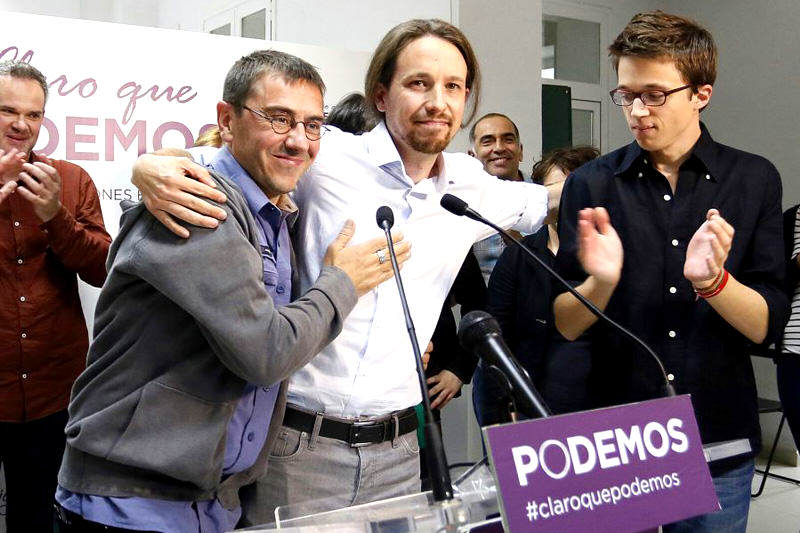 "Pablo Iglesias teme maniobra contra ""Podemos"" por caso de Leopoldo López"