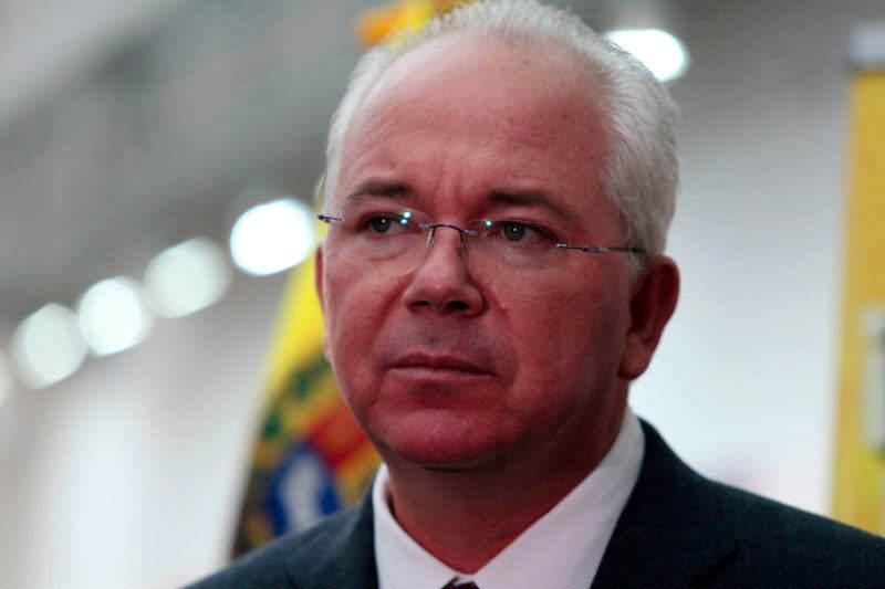 Removido Rafael Ramírez del ministerio de Petróleo y Minería
