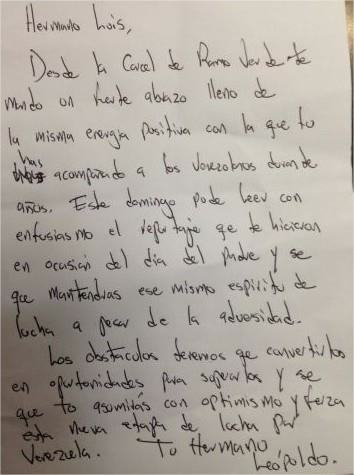 carta de leopoldo a chataing