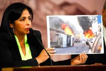 "¡DIRECTO DE APORREA! A Delcy Rodríguez: ""Epa Ministra, no haga de Ministra de Propaganda"""