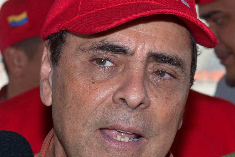 Miembro de la direccion nacional del Psuv Hector Navarro