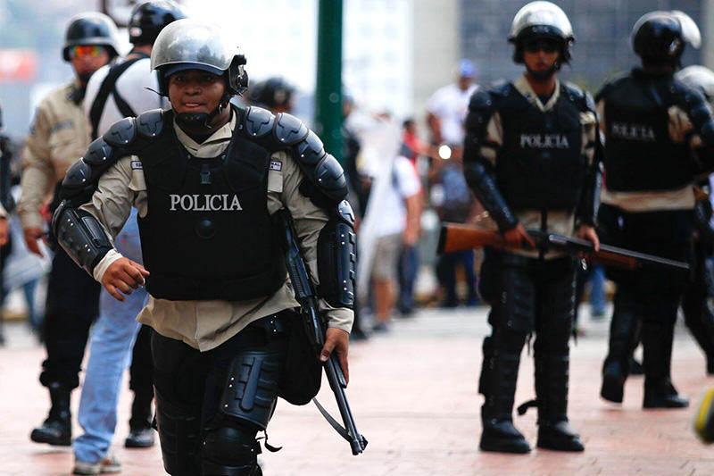 Policia-en-Venezuela