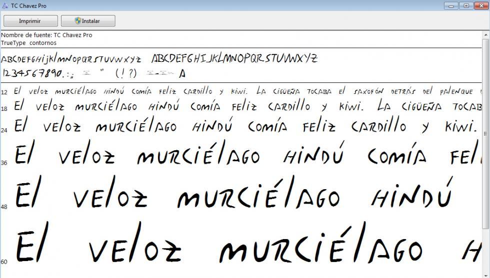 Trinchera Creativa Tipografia de Hugo Chavez llamada ChavezPro  (1)