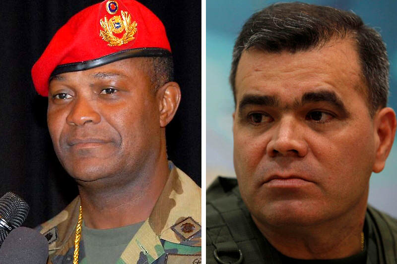 General Jesus Rafael Sanchez Chourio y Vladimir Padrino Lopez