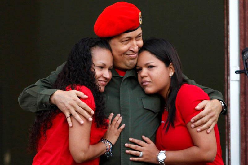 Maria Gabriela Chavez hija de Chavez