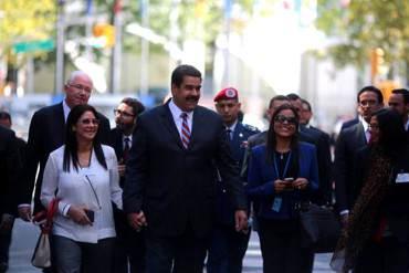 ¡CÓMO LE ENCANTA! Maduro viaja sin avisar a NY para reunirse con Ban Ki-Moon por Guyana