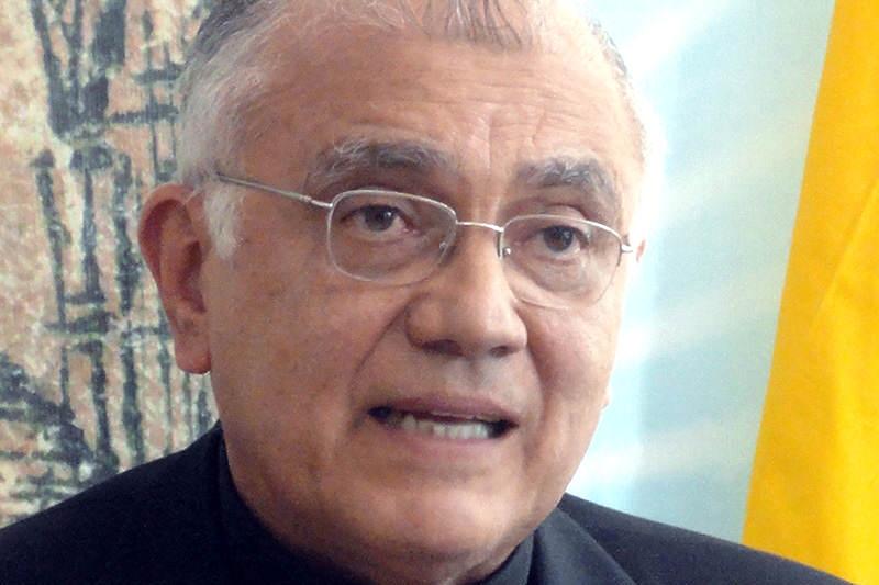Monseñor Baltazar Porras Orzobispo de Merida Venezuela