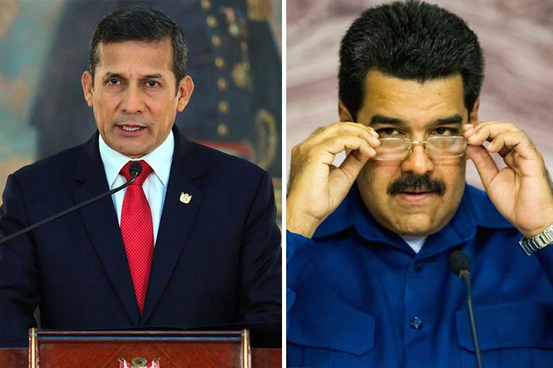 Ollanta-Humala-Vs-Maduro