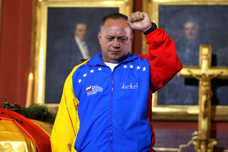 Diosdado Cabello Presidente de la Asamblea Nacional Venezuela Juramento