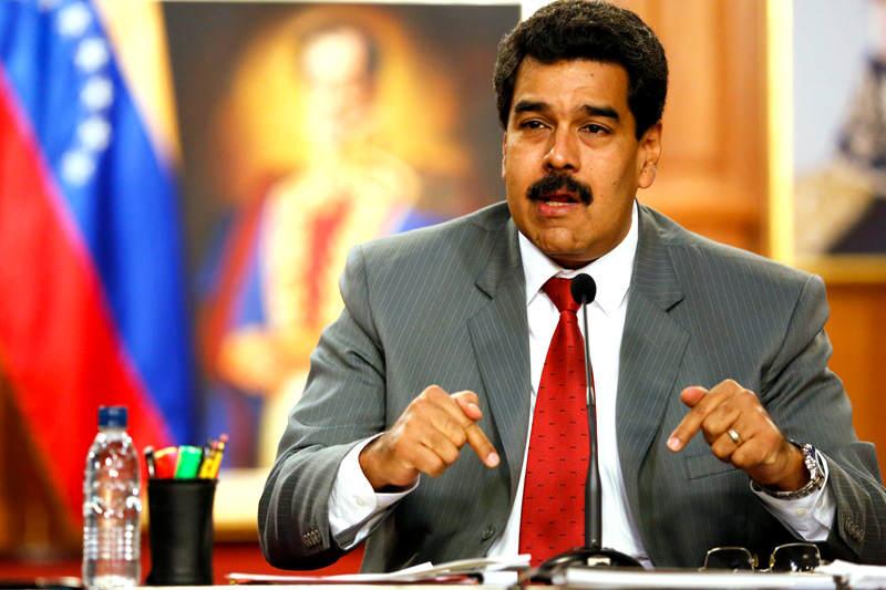Nicolas Maduro 10172014
