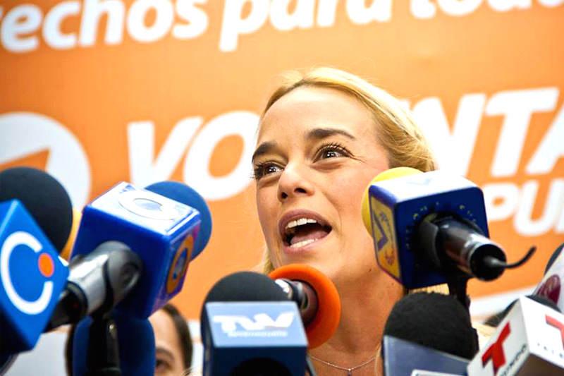 "¡INDIGNADA! Lilian Tintori: ""A Maduro solo le falta encarcelar a Leopoldo López en su casa"""