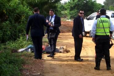 ¡DE TERROR! Hallan cadáveres de tres hombres con la cabeza destrozada en Zulia