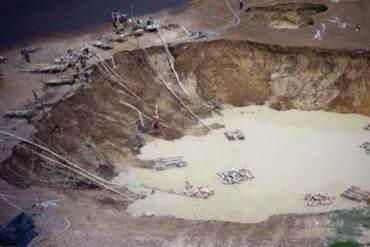 ¡ECOCIDIO! Así tienen al Parque Nacional Canaima gracias a la minería ilegal (+ Fotos)