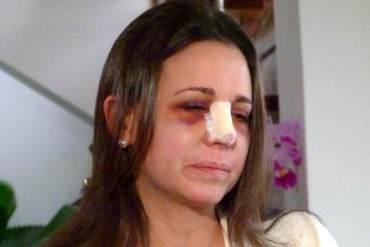 ¡CARA E' TABLA DEL AÑO! Requena: Agresión a María Corina en AN NO fue violencia contra la mujer