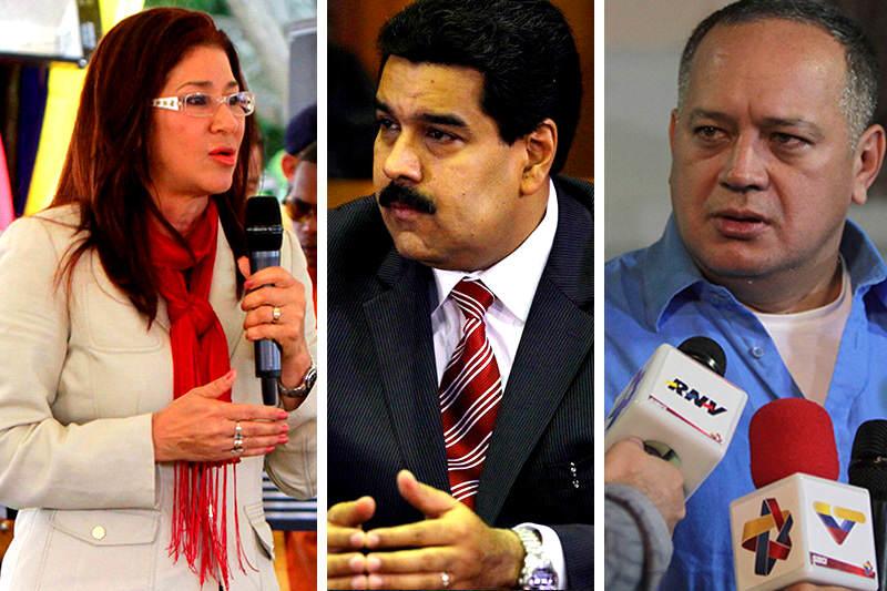 Cilia-Flores-Maduro-Diosdado-Cabello