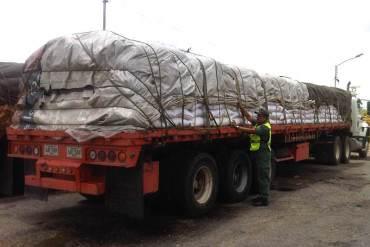 ¿GUISO ROJITO? GNB incautó 10 millones de dólares en camión propiedad de Bolivariana de Puertos