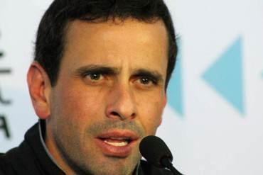 ¡ATENCIÓN! Capriles alerta: Gobierno podría estar considerando suspender las parlamentarias
