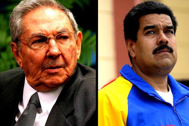 Maduro-y-Raul-Castro