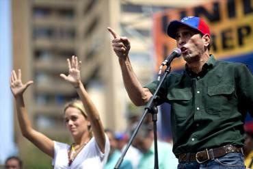 ¡LO ÚLTIMO! Capriles sí asistirá a marcha convocada por Leopoldo: Yo, sin dividir, voy a participar