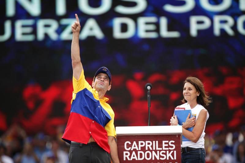 ¡LO ÚLTIMO! Capriles informa estado de salud de su mamá tras salir de cuidados intensivos