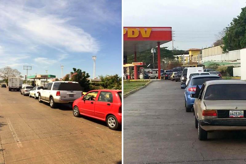 Kilometricas-Colas-para-surtir-de-gasolina-a-los-carros-en-Maracaibo-800x533