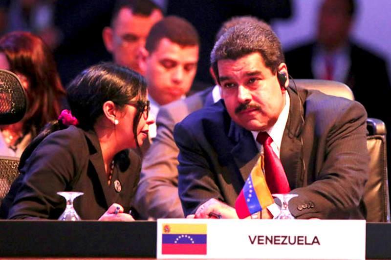 Maduro-Celac-Delcy-Rodriguez