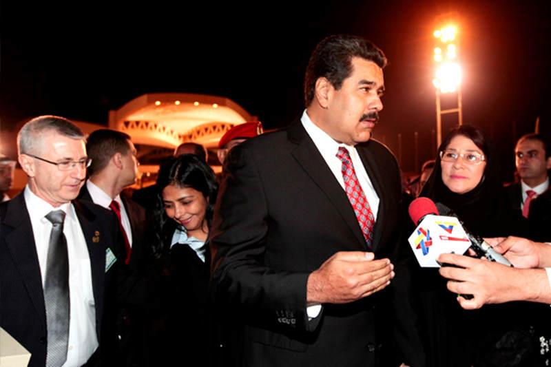 Nicolas-Maduro-Catar-Gira